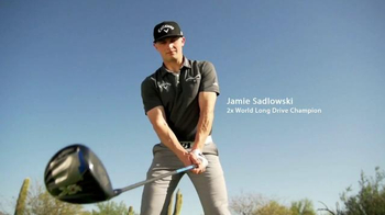 Arccos Golf Driver TV Spot, 'Lift Off' Featuring Jamie Sadlowski