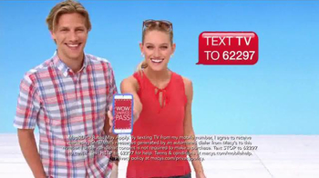 Macy's Memorial Day Sale TV Spot, 'TV Savings Pass' Song by Mungo Jerry - Thumbnail 8