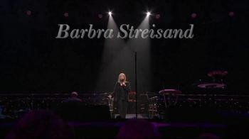 Barbra Streisand Live TV Spot, 'Music, Memories and Magic' - Thumbnail 1