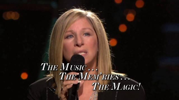 Barbra Streisand Live TV Spot, 'Music, Memories and Magic'