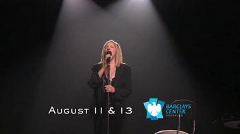 Barbra Streisand Live TV Spot, 'Music, Memories and Magic' - Thumbnail 7