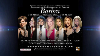 Barbra Streisand Live TV Spot, 'Music, Memories and Magic' - Thumbnail 8