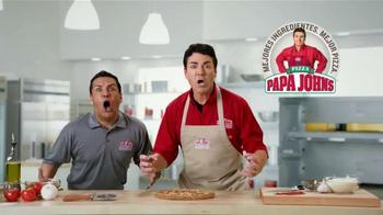 Papa John's Burger Pizzas Grandes TV Spot, 'Fútbol con amigos' [Spanish] - Thumbnail 7