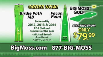 Big Moss Golf Birdie Path MB and Focus Point TV Spot, 'Improve Your Putts' - Thumbnail 7