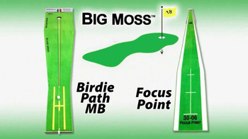 Big Moss Golf Birdie Path MB and Focus Point TV Spot, 'Improve Your Putts' - Thumbnail 1