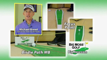 Big Moss Golf Birdie Path MB and Focus Point TV Spot, 'Improve Your Putts' - Thumbnail 3