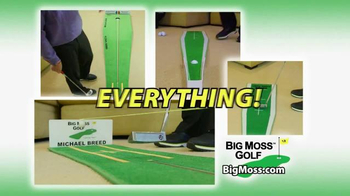 Big Moss Golf Birdie Path MB and Focus Point TV Spot, 'Improve Your Putts' - Thumbnail 4