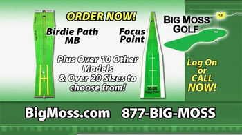 Big Moss Golf Birdie Path MB and Focus Point TV Spot, 'Improve Your Putts' - Thumbnail 6