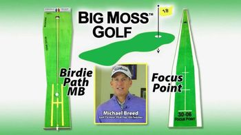 Big Moss Golf Birdie Path MB and Focus Point TV Spot, 'Improve Your Putts'