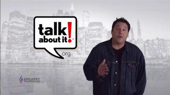 Epilepsy Foundation TV Spot, 'Talk About It' Featuring Greg Grunberg