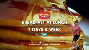 Golden Corral Weekend Breakfast TV Spot, 'Cuckoo Clock' Ft. Jeff Foxworthy - Thumbnail 10