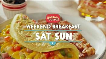 Golden Corral Weekend Breakfast TV Spot, 'Cuckoo Clock' Ft. Jeff Foxworthy - Thumbnail 6