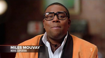 Fandango TV Spot, 'Miles Mouvay: Origin Story' Featuring Kenan Thompson - Thumbnail 1