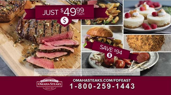 Omaha Steaks Father\'s Day Feast TV Spot, \'Ribeyes\'