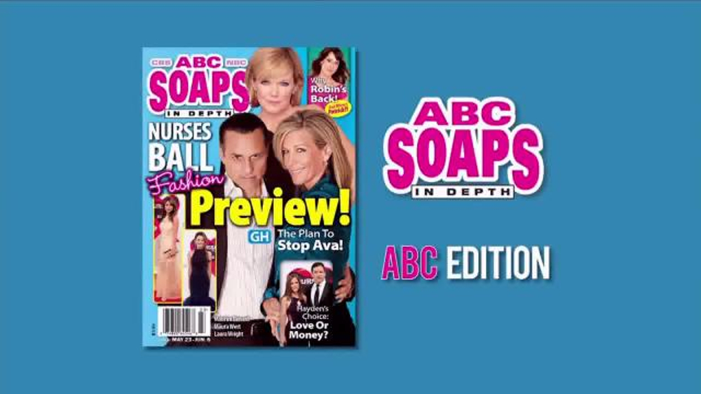 CBS Soaps in Depth TV Commercial, 'Nurses Ball Fashion Preview'