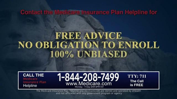 Medicare.com TV Spot, 'Insurance Plan Helpline' - Thumbnail 6