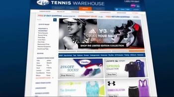 Tennis Warehouse TV Spot, 'Fit Guides' - Thumbnail 1