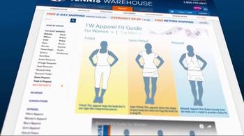 Tennis Warehouse TV Spot, 'Fit Guides' - Thumbnail 7