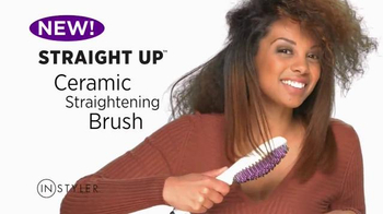 Instyler Straight Up Brush TV Spot, 'Brush Your Hair Straight'