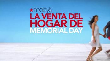 Macy's La Venta del Hogar de Memorial Day TV Spot, 'Almohada' [Spanish] - Thumbnail 8