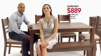 Macy's Memorial Day Furniture Sale TV Spot, 'Super Buys'