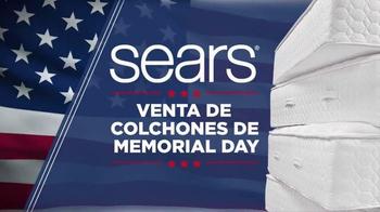 Sears Venta de Colchones de Memorial Day TV Spot, 'Mejores marcas'[Spanish]