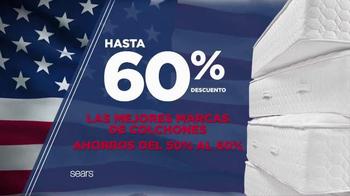 Sears Venta de Colchones de Memorial Day TV Spot, 'Mejores marcas'[Spanish] - Thumbnail 3
