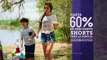JCPenney Venta de Memorial Day TV Spot, 'Camisetas y shorts' [Spanish] - Thumbnail 3