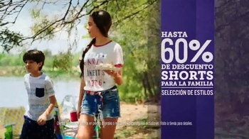 JCPenney Venta de Memorial Day TV Spot, 'Camisetas y shorts' [Spanish] - Thumbnail 4