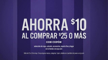 JCPenney Venta de Memorial Day TV Spot, 'Camisetas y shorts' [Spanish] - Thumbnail 7