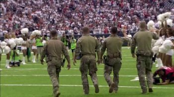 USAA TV Spot, 'NFL Salute to Service: Throughout the Year'