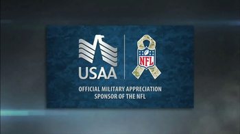 USAA TV Spot, 'NFL Salute to Service: Throughout the Year' - Thumbnail 1