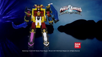 Power Rangers Ninja Steel Megazord TV Spot, 'Victory Is Yours' - Thumbnail 6