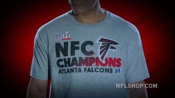 NFL Shop Conference Championship Trophy Collection TV Spot, 'NFC Champions' - 55 commercial airings