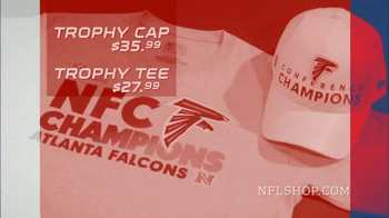 NFL Shop Conference Championship Trophy Collection TV Spot, 'NFC Champions' - Thumbnail 8