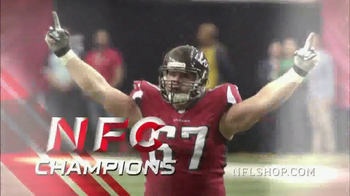 NFL Shop Conference Championship Trophy Collection TV Spot, 'NFC Champions' - Thumbnail 1