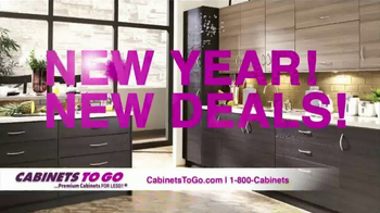 Cabinets To Go TV Spot, 'New Year New Deals!' - Thumbnail 1