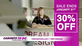 Cabinets To Go TV Spot, 'New Year New Deals!' - Thumbnail 6
