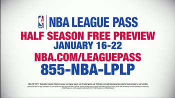 NBA League Pass TV Spot, 'Half Season Free Preview' - Thumbnail 5
