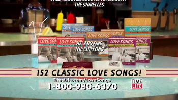 Classic Love Songs of Rock N Roll TV Spot, '152 Classic Hits'