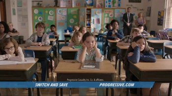 Progressive TV Spot, 'Career Day' - 10757 commercial airings