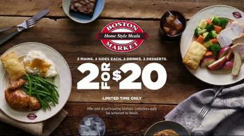 Boston Market TV Spot, '2 for $20' - Thumbnail 4