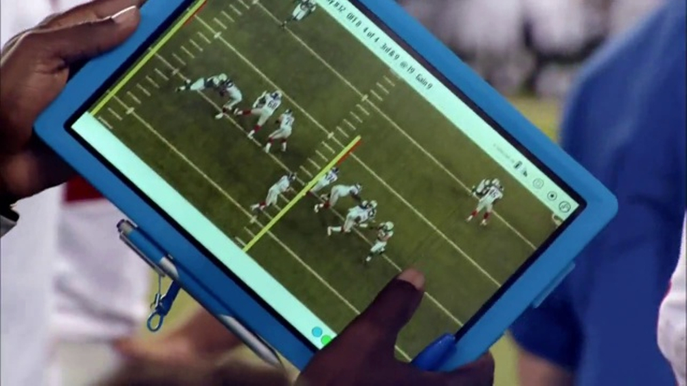 Microsoft Surface TV Commercial, 'NFL Sidelines: Dolphins vs. Steelers'