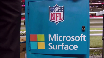 Microsoft Surface TV Spot, 'NFL Sidelines: Dolphins vs. Steelers' - Thumbnail 1