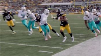 Microsoft Surface TV Spot, 'NFL Sidelines: Dolphins vs. Steelers' - Thumbnail 8