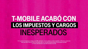 T-Mobile One TV Spot, 'Se acabaron los impuestos inesperados' [Spanish] - Thumbnail 7