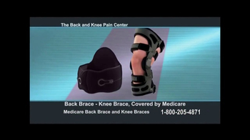 Back and Knee Brace Center TV Spot, 'Chronic Pain'