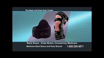 Back and Knee Brace Center TV Spot, 'Chronic Pain'
