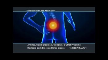 Back and Knee Brace Center TV Spot, 'Chronic Pain' - Thumbnail 2