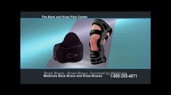 Back and Knee Brace Center TV Spot, 'Chronic Pain' - Thumbnail 8